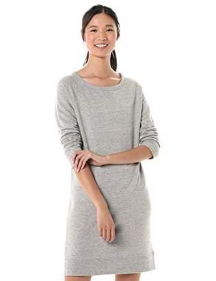 Goodthreads Amazon Brand Women's Modal Fleece Popover Sweatshirt Dress