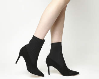 Office Amore Knit Stretch Stiletto Boots