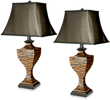 Bed Bath & Beyond Sahara Safari Table Lamps (Set of 2)