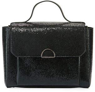 Brunello Cucinelli Broken Glass-Effect Top Handle Satchel Bag