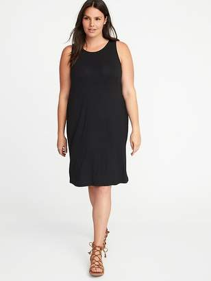 Old Navy Sleeveless Plus-Size Jersey-Knit Swing Dress