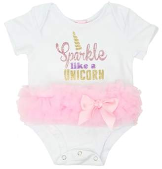 Popatu Sparkle Like a Unicorn Tutu Bodysuit