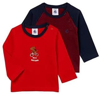 Petit Bateau Boys Bolo Polo Shirt