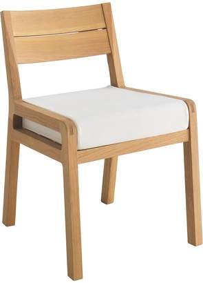 Radius Solid Oak Dining Chair With Upholstered Seat Pad