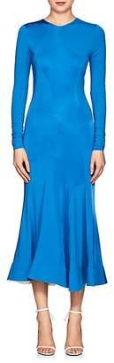 Esteban Cortazar Women's Fluid Jersey Flared Dress