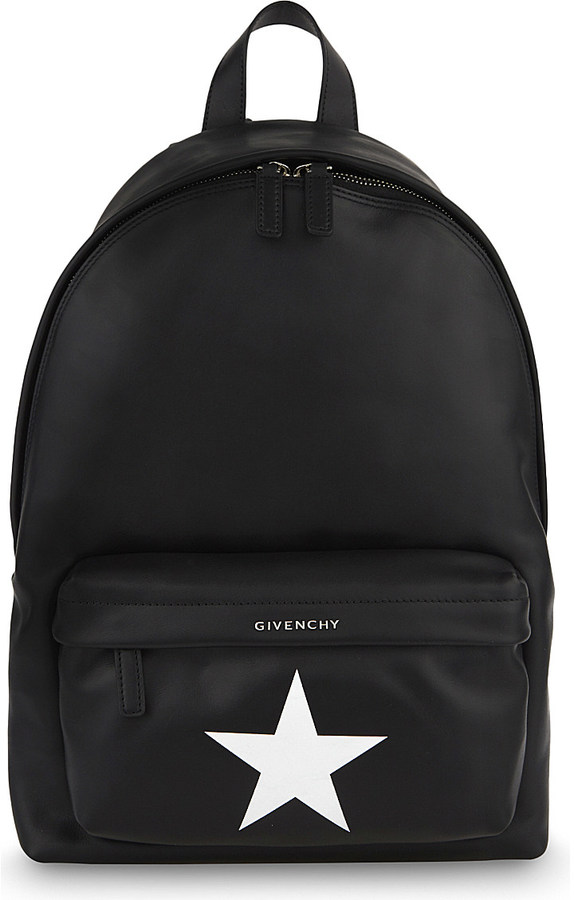 Givenchy GIVENCHY Star small leather backpack