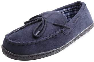 WILLIAM&KATE Men's Suede Driving Shoes Slip-on Moccasin Shoes Soft Sole Outdoor Walking Casual Slippers