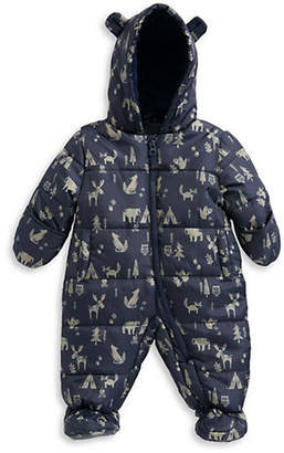 London Fog F.O.G. BY Baby's Hooded Snowsuit