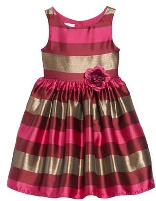 Frais Stripe Fit & Flare Dress