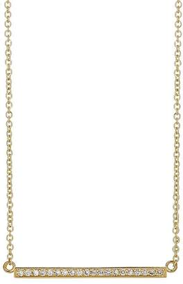 Jennifer Meyer Women's Diamond Stick Necklace