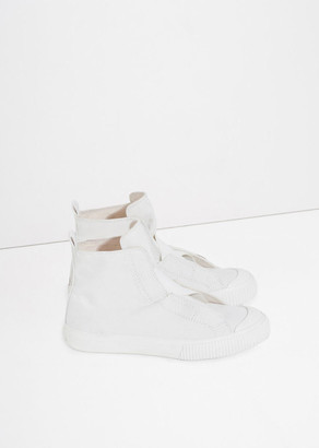 Y's Cross Gore High Top Sneaker $440 thestylecure.com