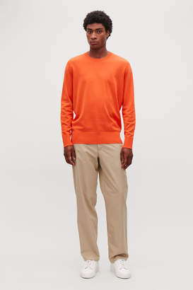 Cos JUMPER WITH RIBBED DETAIL