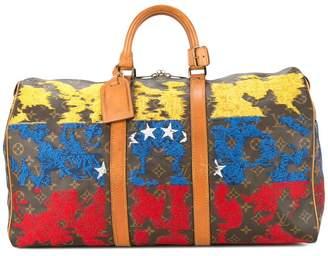 Jay Ahr Venezuela flag vintage Louis Vuitton keepall
