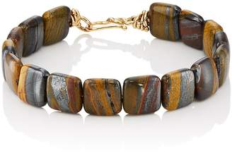 Dean Harris Men's Tiger Iron Beaded Bracelet