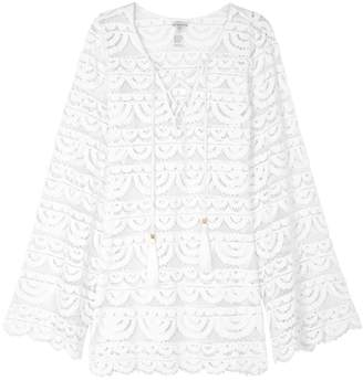 Pilyq Noah White Lace Tunic