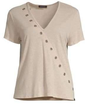 Koral Linen Sage Naturae T-shirt
