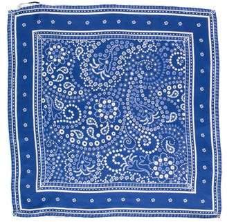 Rebecca Minkoff Paisley Printed Silk Scarf