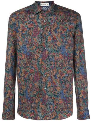 Etro mixed paisley-print shirt