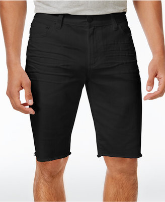 American Rag Men's Big & Tall Denim Shorts, Created for Macy's $55 thestylecure.com