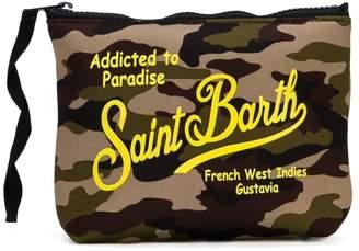 MC2 Saint Barth Kids Aline logo print pouch