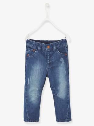 Vertbaudet Baby Boys' Torn Jeans