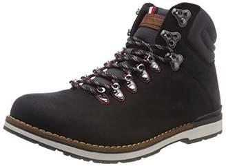 748b3d471eebf9 Tommy Hilfiger Men s s Outdoor Hiking Detail Boot Combat (Black ...
