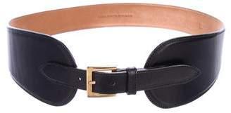Saks Fifth Avenue Leather Waist Belt
