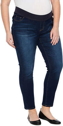 BELLE + SKY Belle & Sky Maternity Demi Panel Skinny Jean - Plus