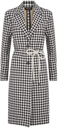 Robert Rodriguez Ines Gingham Coat