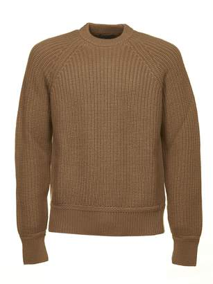 Prada Raglan Sleeve Knit Sweater