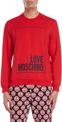 Love Moschino Box Logo Sweatshirt