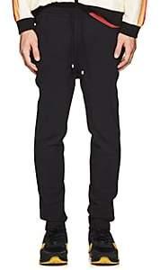 Filling Pieces Men's Ponte-Knit Ankle-Zip Jogger Pants - Black