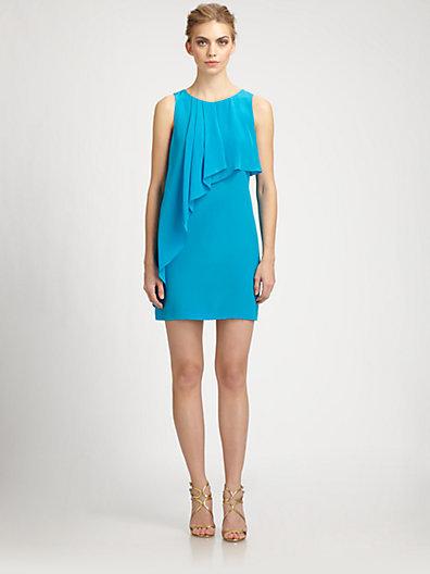 Ali Ro Silk Drape Dress
