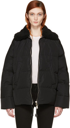 Dsquared2 Black Quilted Puffer Jacket $2,180 thestylecure.com