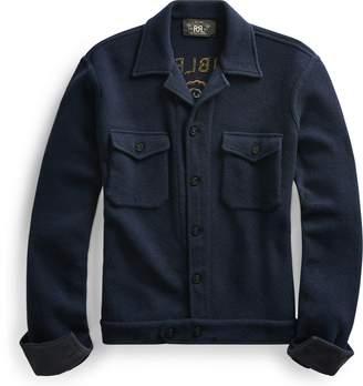 Ralph Lauren Embroidered Workshirt Sweater