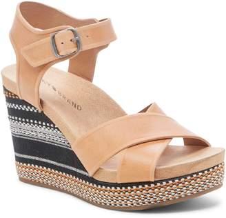 Lucky Brand Yarosan Platform Wedge Sandal