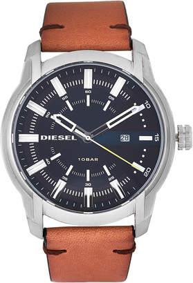 Diesel DZ1847 Silver-Tone & Black Watch