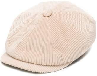 Brunello Cucinelli corduroy flat cap