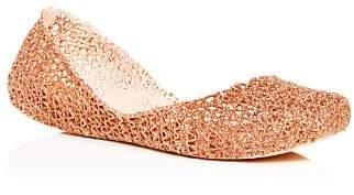 Melissa Women's Campana Glitter Ballet Flats