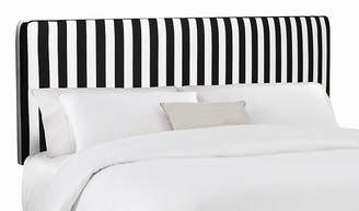 One Kings Lane Macy Striped Headboard - Black/White