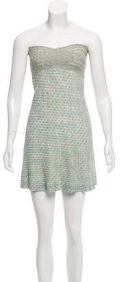 Missoni Mare Strapless Pattern Dress