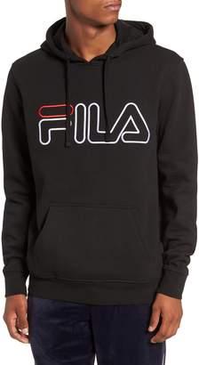 Fila Logo Embroidered Hooded Sweatshirt