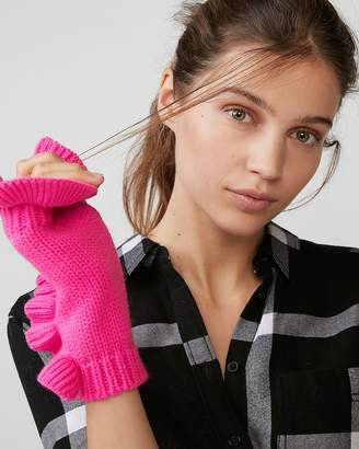 Express Ruffle Arm Warmer