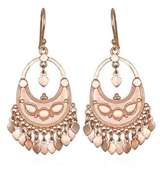 Satya Jewelry Womens Petal Drop Earrings