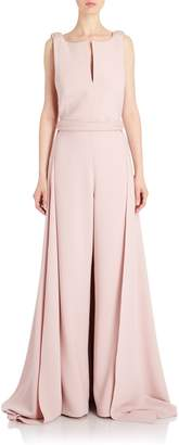 Brandon Maxwell Jumpsuit with Cape