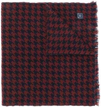 Salvatore Ferragamo houndstooth scarf