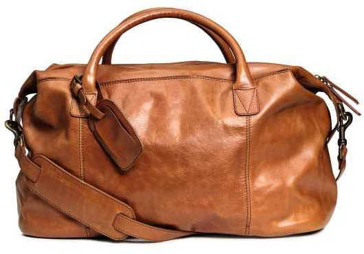 H&M Leather Weekend Bag