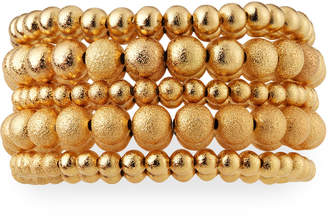 Lydell NYC Bead Stretch Bracelets, Set of 5