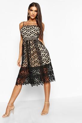 91668244bda6 boohoo Black Skater Cocktail Dresses - ShopStyle