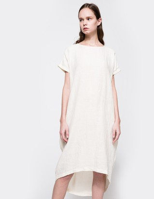 Pleated Cocoon Dress $196 thestylecure.com